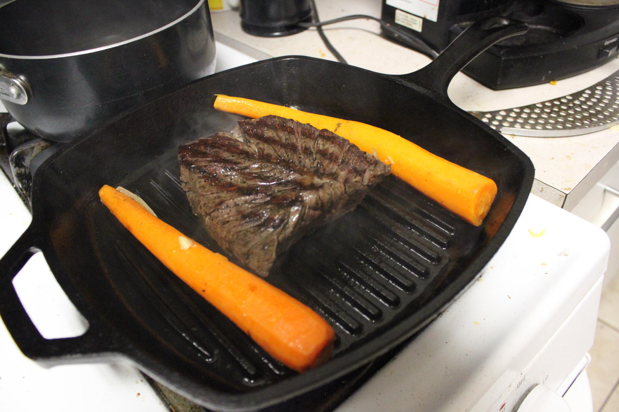 how to cook hanger steak in oven